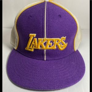 1972 Vintage Los Angeles Lakers Basketball Hat